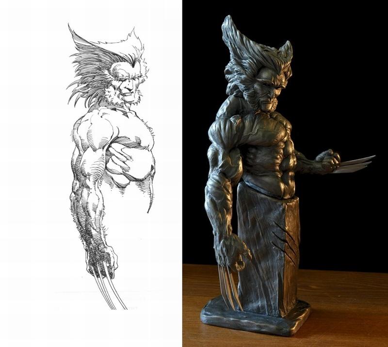 """Wolverine """"Buste"""" Wolverine_089"""
