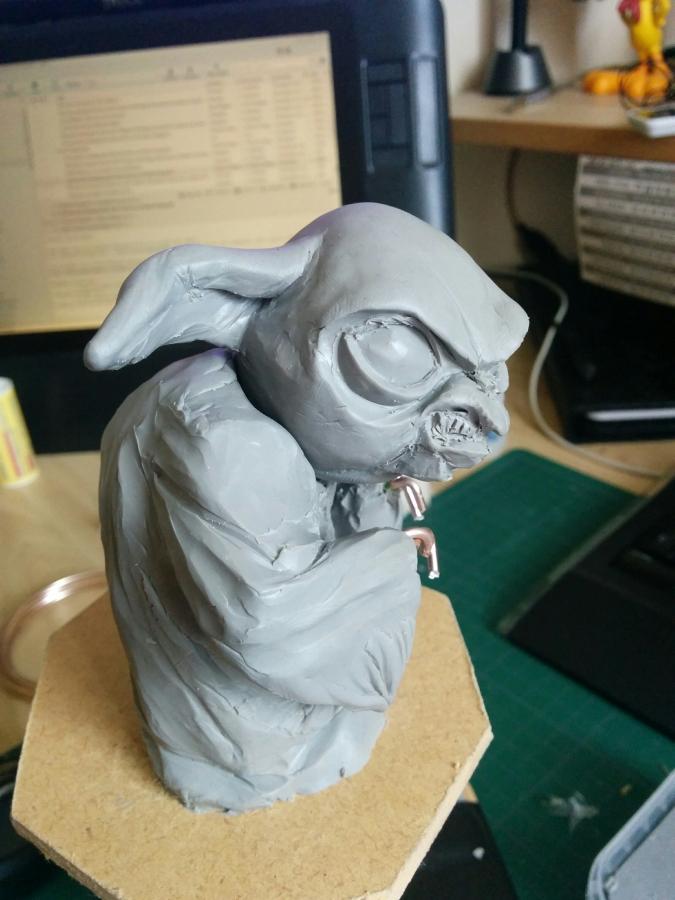 Sculpture de Yoda YoDark_06