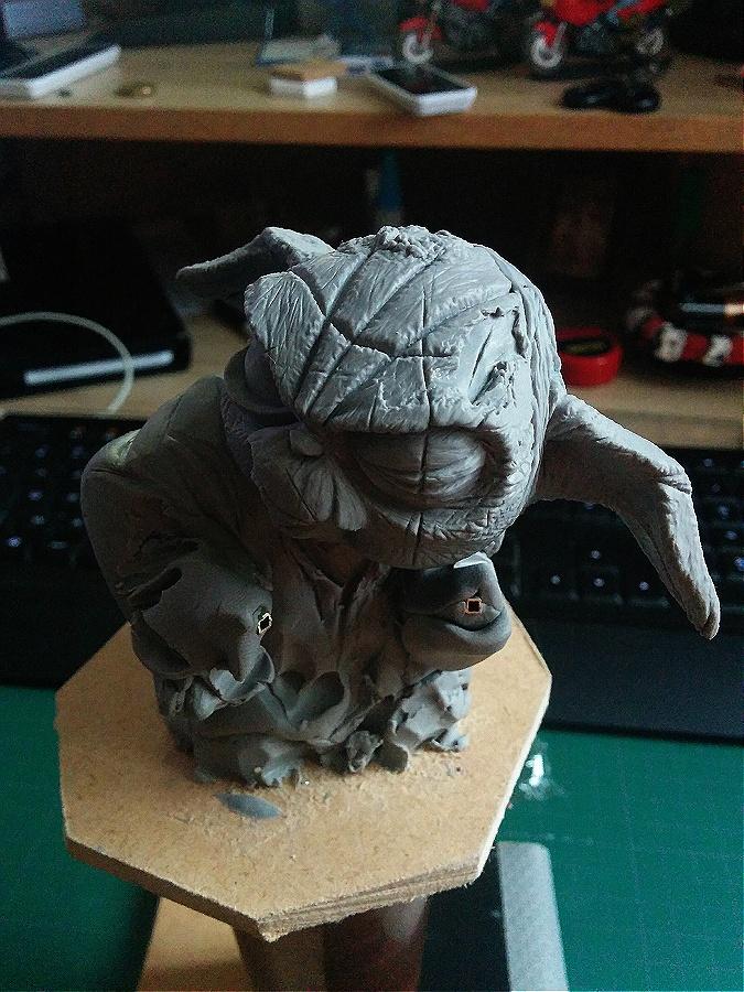 Sculpture de Yoda YoDark_13
