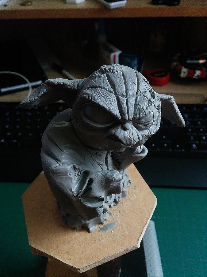 Sculpture de Yoda YoDark_17