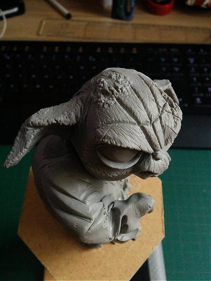 Sculpture de Yoda YoDark_18