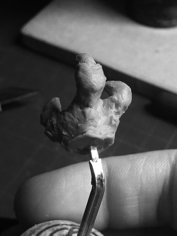 Sculpture de Yoda YoDark_35