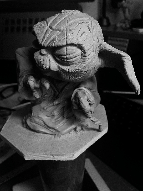 Sculpture de Yoda YoDark_44