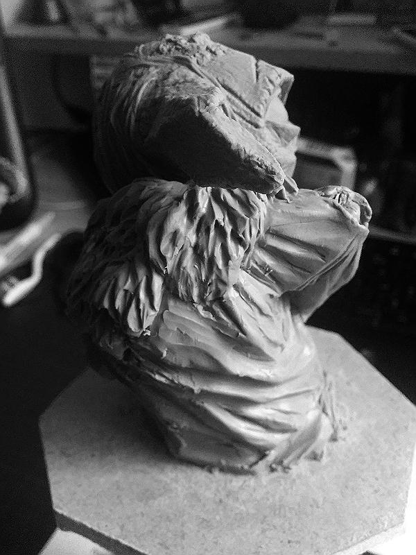 Sculpture de Yoda YoDark_49