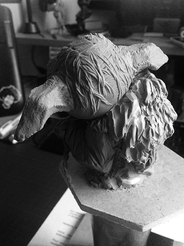 Sculpture de Yoda YoDark_50