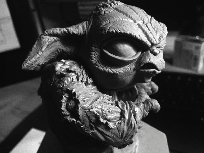 Sculpture de Yoda YoDark_53