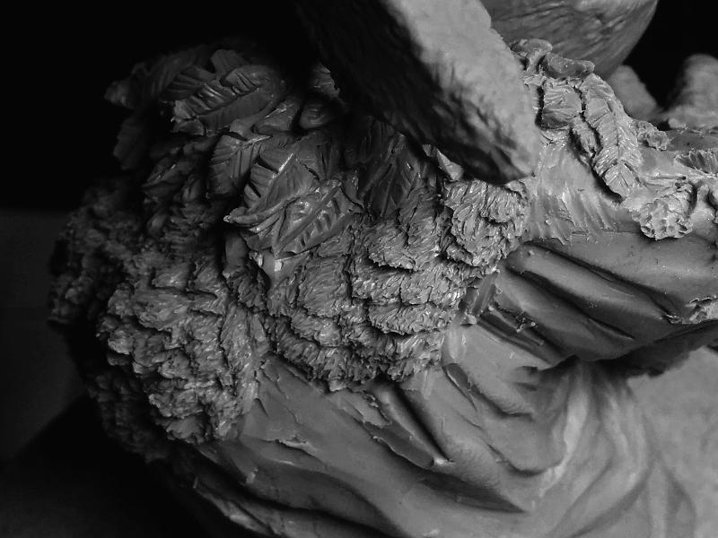 Sculpture de Yoda YoDark_55